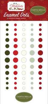 Hello Christmas: Enamel Dots