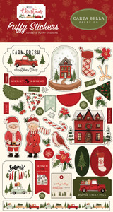 Hello Christmas: Puffy Stickers