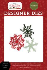 Hello Christmas: Whimsical Snowflakes Die Set