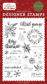 Hello Christmas: Christmas Greetings Stamp Set