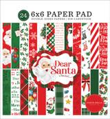 Dear Santa: 6x6 Paper Pad