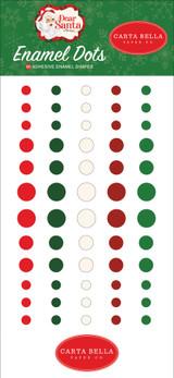 Dear Santa: Enamel Dots