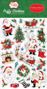 Dear Santa: Puffy Stickers