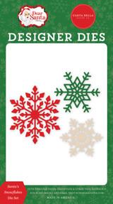 Dear Santa: Santa's Snowflakes Die Set