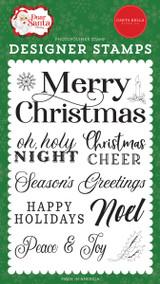 Dear Santa: Merry Christmas Sentiment Stamp Set