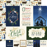 Silent Night: Journaling Cards