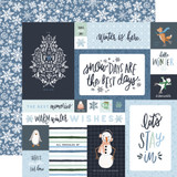 Winter Market: 4x6 Journaling Cards
