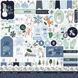 Winter Market Element Sticker