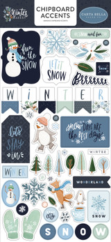 Winter Market Chipboard Accents