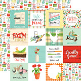 Farm To Table: 3x3 Journaling Cards