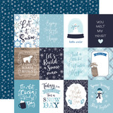 Winter Magic: 3x4 Journaling Cards