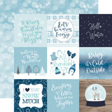 Winter Magic: 4x4 Journaling Cards