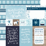 Winter Magic: 4x6 Journaling Cards