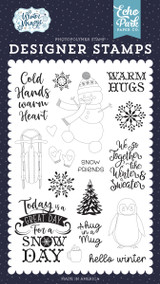 Winter Magic: Warm Hugs Stamp Set