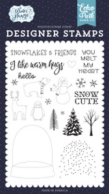 Winter Magic: You Melt My Heart Stamp Set