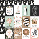 Our Wedding: 3x4 Journaling Cards