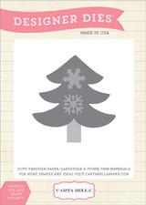 Snowflake Tree Die Set