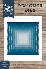 Stitched Square Nesting Die Set
