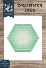 Stitched Hexagon Nesting Die Set