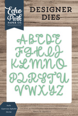 Sadie Uppercase Alphabet Die Set