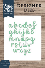 Sadie Lowercase Alphabet Die Set