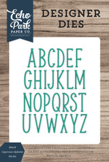 Mckell Uppercase Alphabet Die Set