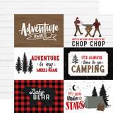 Let's Lumberjack: 4x6 Journaling Cards