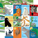 Zoo Adventure: 3x4 Journaling Cards