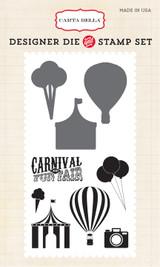 Carnival Fun Die/Stamp Combo