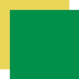 Zoo Adventure: Designer Solids - Green/Yellow