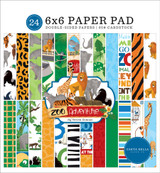 Zoo Adventure 6x6 Paper Pad