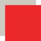 Cupid & Co: Designer Solids - Light Red/Light Grey