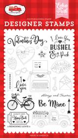 Cupid & Co: Be Mine Stamp Set