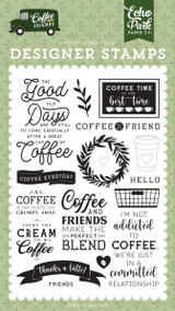 Coffee & Friends: Coffee Addict Stamp Set