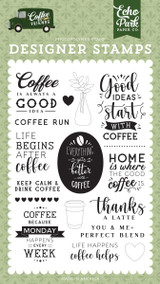 Coffee & Friends: Coffee Run Stamp Set