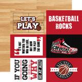 Basketball: 4x6 Journaling Cards