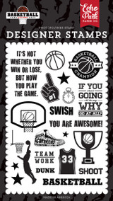 Basketball: Swish Stamp Set