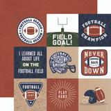 Football: 4x4 Journaling Cards