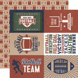 Football: 4x6 Journaling Cards