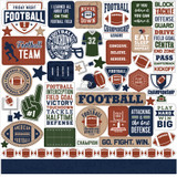 Football Element Sticker