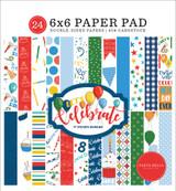 Let's Celebrate: Let's Celebrate 6x6 Paper Pad