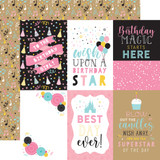 Magical Birthday Girl: 4x6 Journaling Cards
