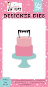 Magical Birthday Girl: Birthday Cake Die Set
