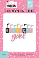 Magical Birthday Girl: Birthday Girl Flags Die Set