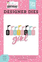 Magical Birthday Girl: Birthday Girl Flags Die Set