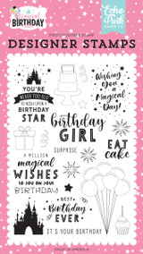 Magical Birthday Girl: Birthday Magic Stamp Set