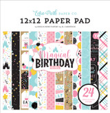 Magical Birthday Girl: 12x12 Paper Pad
