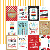 Magical Birthday Boy: 3x4 Journaling Cards