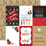 Magical Birthday Boy: 4x6 Journaling Cards