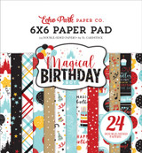 Magical Birthday Boy 6x6 Paper Pad